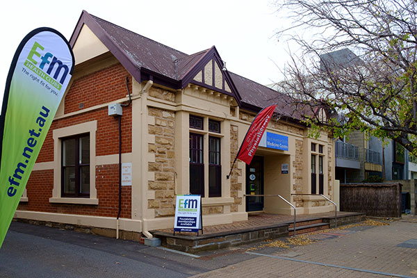 south tce front